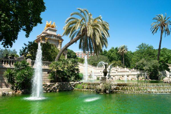 Barcelona Park Garten