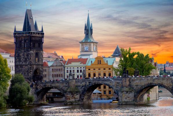 Karlsbrücke in Prag - Reisen