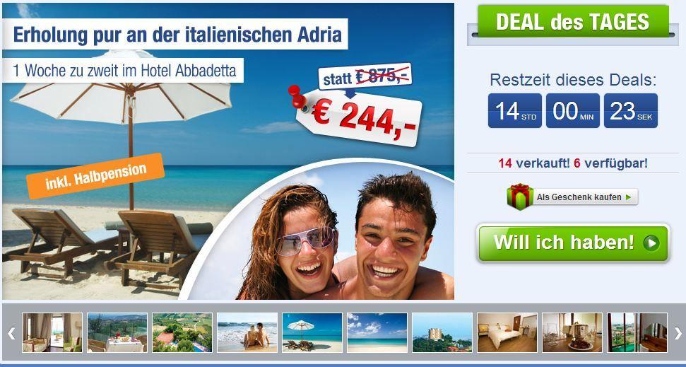 Urlaub Adria