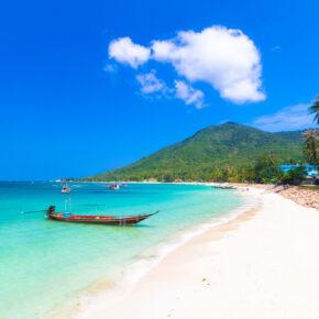 Thailand: 14 Tage Koh Phangan mit gutem Hotel & Flug für 436€