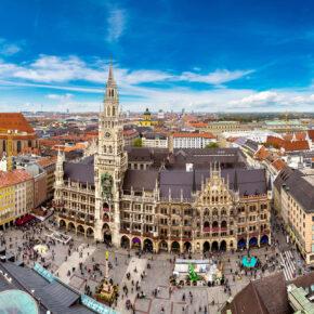 Wochenendtrip: 2 Tage München in TOP zentralem 4* Hotel mit Frühstück nur 34€