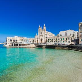 Malta Frühbucher: 7 Tage im guten 3.5* Hotel mit All Inclusive, Flug & Transfer nur 439€
