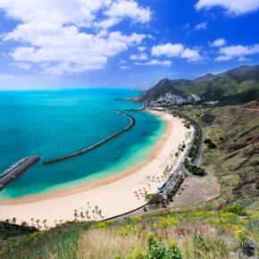 Frühbucher: 7 Tage auf Teneriffa mit TOP 4* Hotel, Frühstück, Flug & Zug für 373€