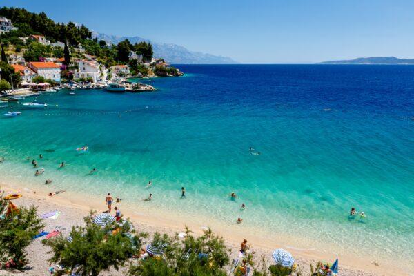 Kroatien Split Adria Strand