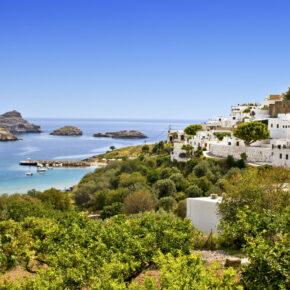 Griechenland: 7 Tage Rhodos mit TOP 4* Hotel, All Inclusive, Flug, Transfer & Zug zum Flug nur 398€
