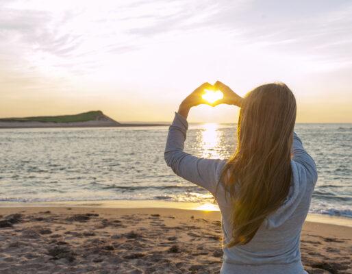 Kreta Selfie am Strand