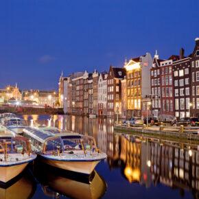 Flugschnäppchen Amsterdam: Hin und zurück nur 95 €