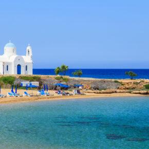 Lastminute: 1 Woche Zypern inkl. Frühstück, Zug, Flug und Transfer für nur 101 €