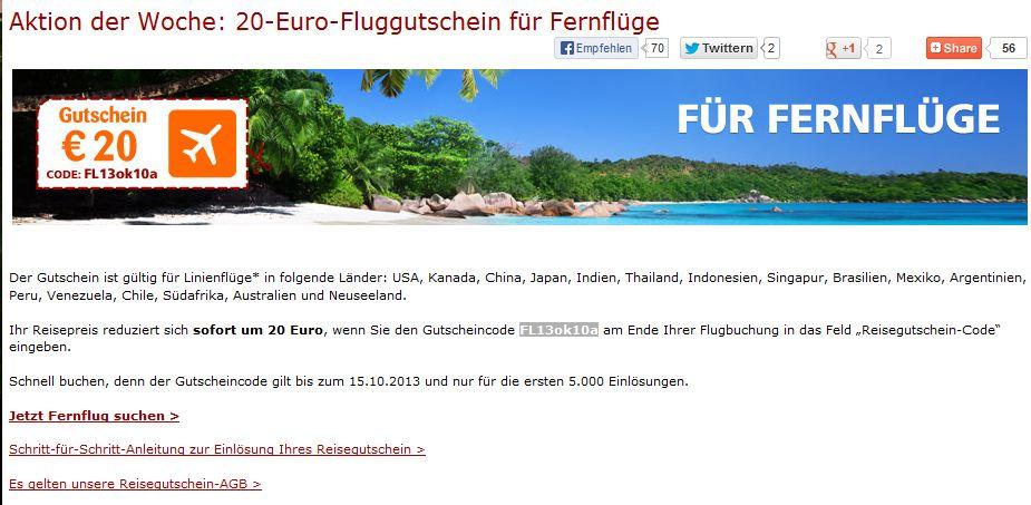 opodo gutschein flug 20 euro