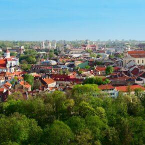 3 Tage Städtereise nach Vilnius mit Flug & Hotel für nur 73 €