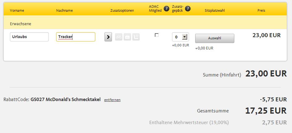 ADAC Postbus Gutschein