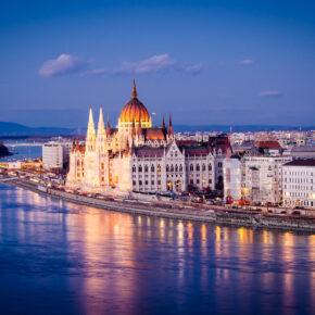 Wochenendtrip: 3 Tage Budapest mit TOP 4* Hotel, Frühstück & Flug nur 59 €