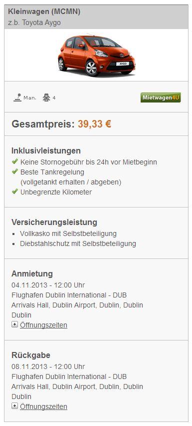 Schnaeppchen_Mietwagen_DUblin