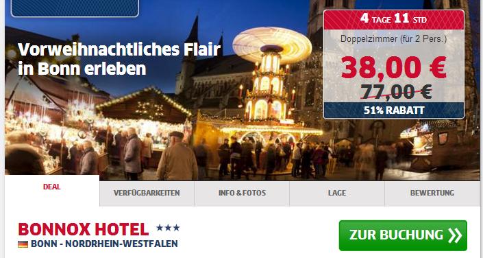 Bonn Hotelschnäppchen