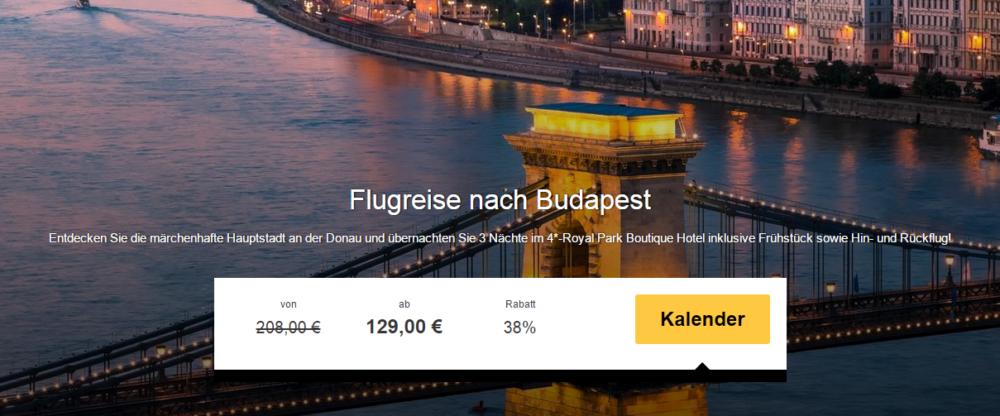 Städtetrip nach Budapest