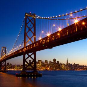 Westküste: Rundreise nach Los Angeles, Las Vegas, San Francisco & zurück nur 404€