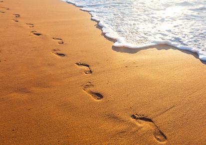 Spaziergang am Strand