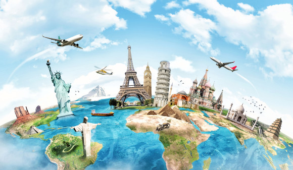 Städtetrip Weltkugel
