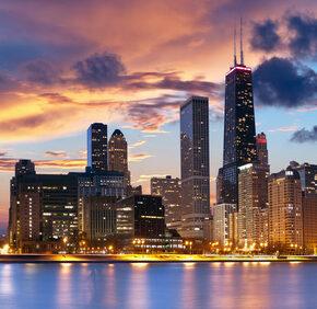 Nur 349 € Fly & Stay Chicago: 7-21 Tage mit Hin und Rückflug & 1 Übernachtung im 3* Hotel