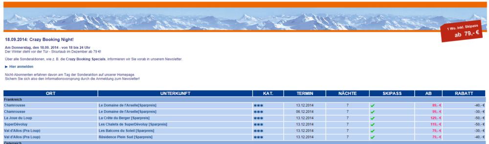 Skifahren Snowtrex