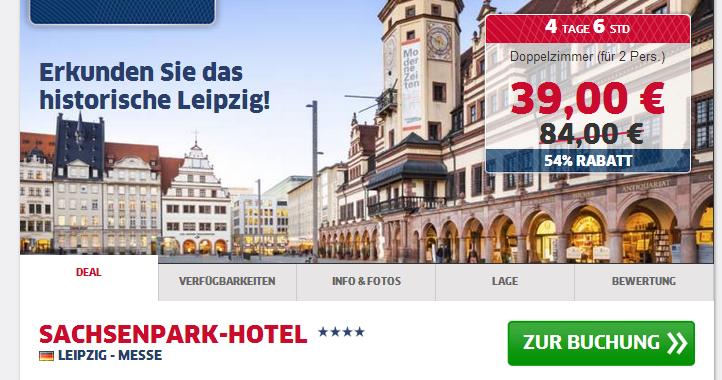 hotelschn ppchen leipzig sehr gutes 4 hotel 98 nur. Black Bedroom Furniture Sets. Home Design Ideas