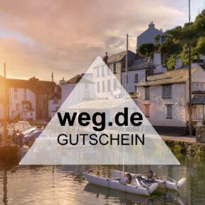 weg.de Gutschein: 120€ auf die nächste Reise sparen