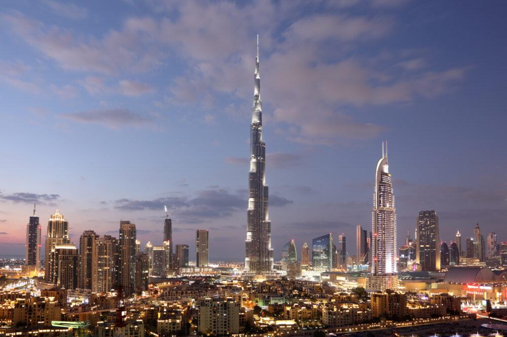 Burj Khalifa in Dubai, Vereinigte Emierate