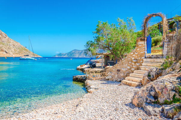 Strand auf Kos, Griechenland