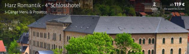 3 Tage Schlosshotel im Harz