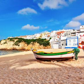 7 Tage Algarve Urlaub im 4* Hotel mit Flug, Zug & Transfer für 173 €