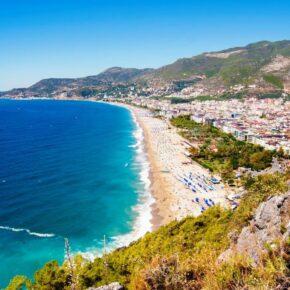 Single-Deal Türkei: 7 Tage Antalya im TOP 5* All Inclusive Hotel mit Flug, Transfer & Zug nur 269€