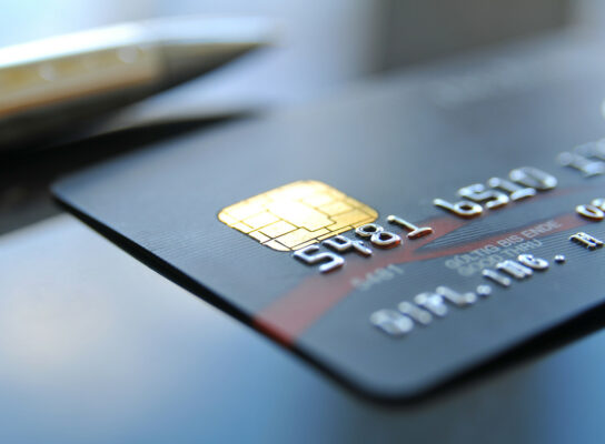 Konto mit Kreditkarte