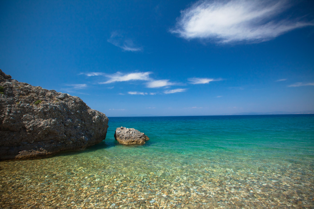 Türkei Strand Ägis