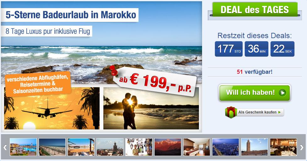 8 tage marokko im 5 hotel mit flug zug fr hst ck nur. Black Bedroom Furniture Sets. Home Design Ideas