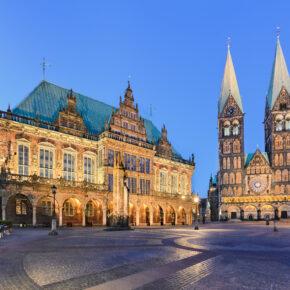 Den Stadtmusikanten auf der Spur: 3 Tage Kurztrip nach Bremen ins zentrale 4* Hotel inkl. Frühstück für 75€