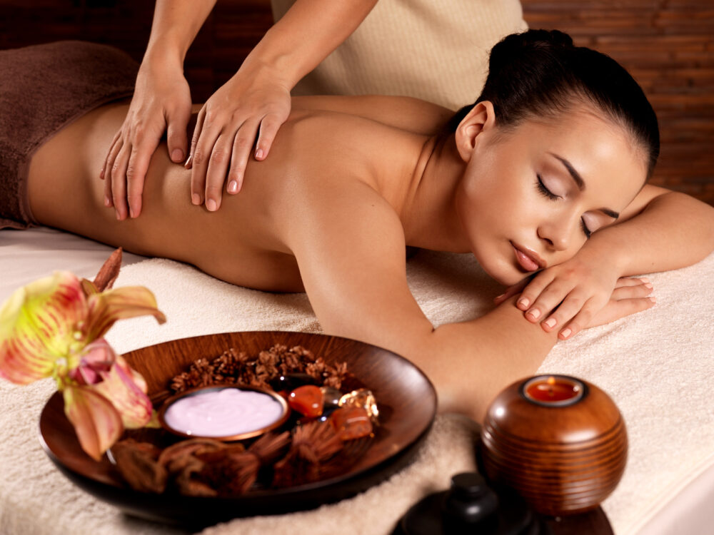 Massage im Wellnesshotel