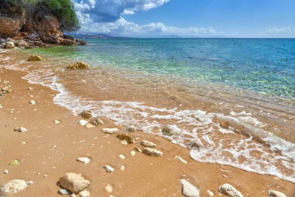 Paleokastritsa Bucht auf Korfu