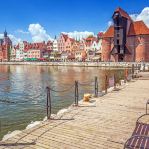 Wochenende in Polen: 3 Tage Danzig in zentralem TOP 4* Hotel mit Sauna für 39€
