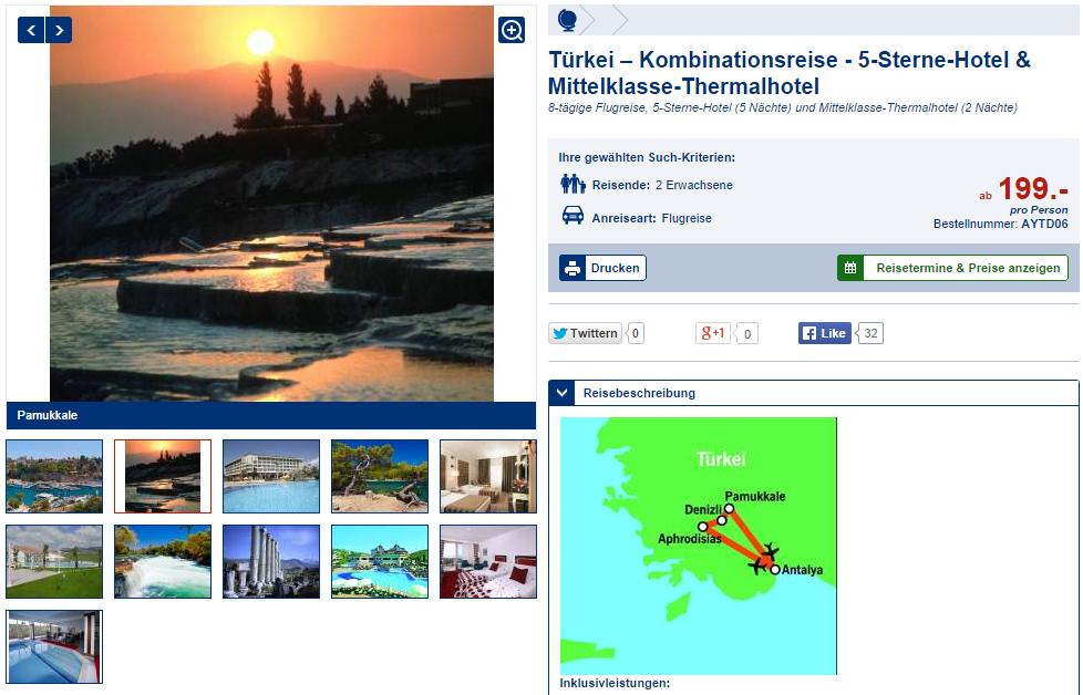 Türkei Rundreise
