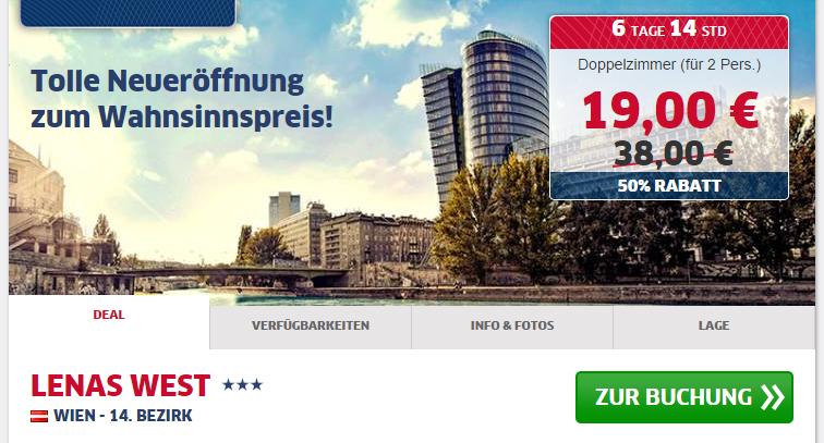 Wien neues Hotel