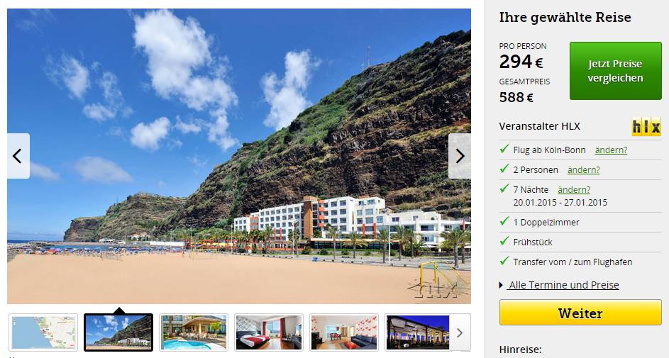 1 Woche Madeira