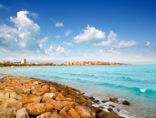 Spanien Costa Dorada Tarragona_Strand