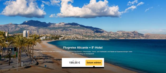 Alicante Luxus Schnäppchen