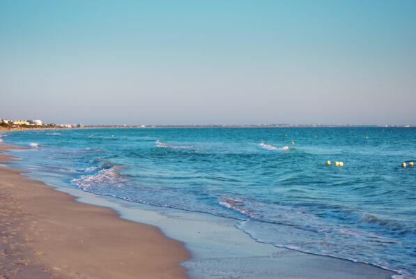 Tunesien Strand auf Djerba