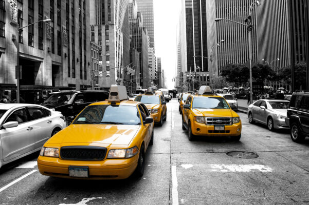 Taxi in Mannhatten - New York
