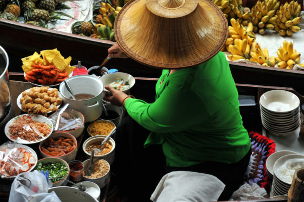Amphawa Floating Market Bangkok