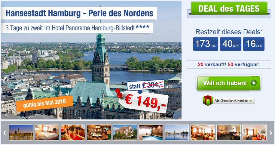 3 tage 4 hotel gutschein hamburg f r nur 75 mit fr hst ck. Black Bedroom Furniture Sets. Home Design Ideas