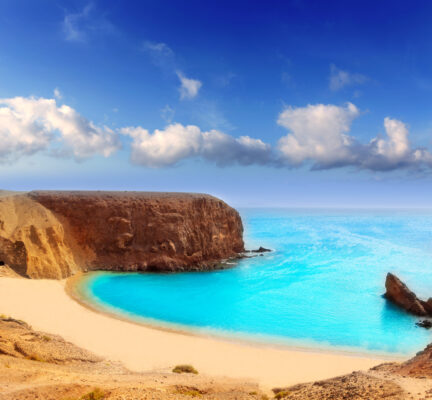 Lanzarote El Papagayo Playa Strand Kanaren