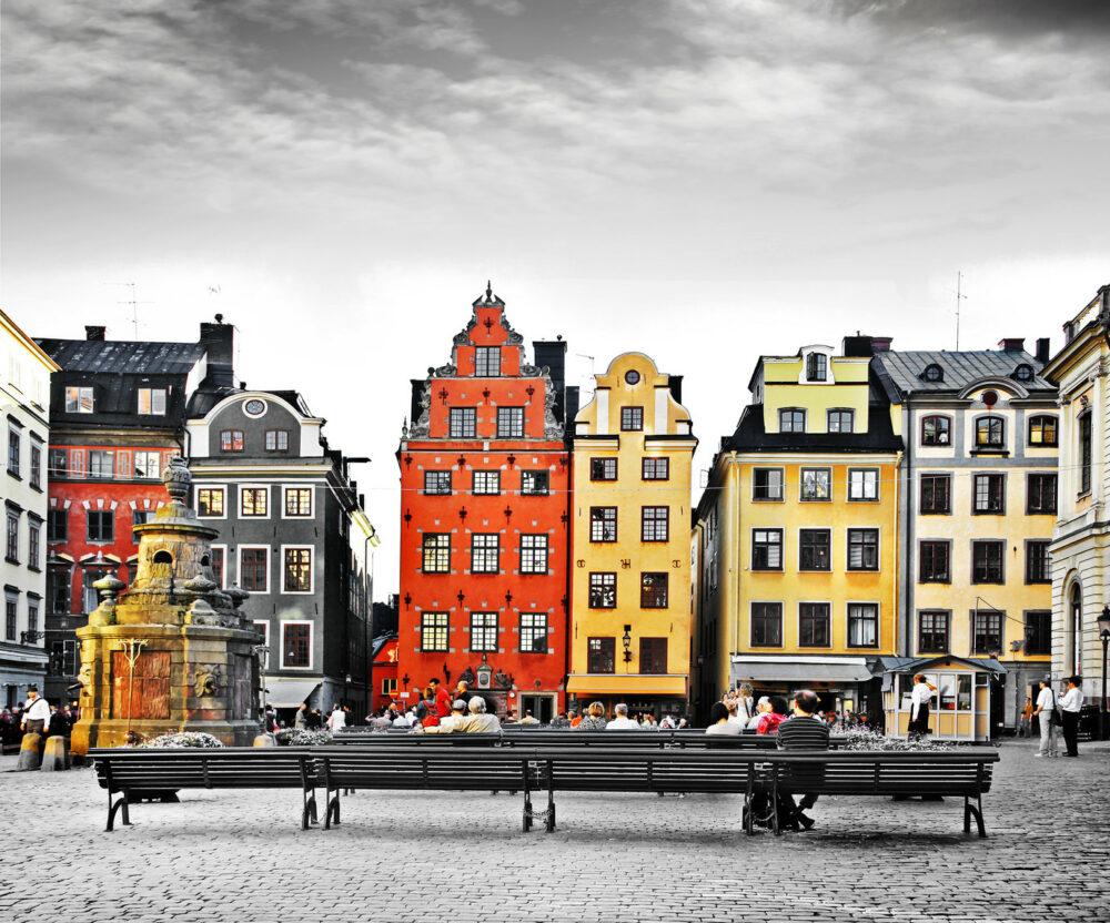 Stadtzentrum Stockholm