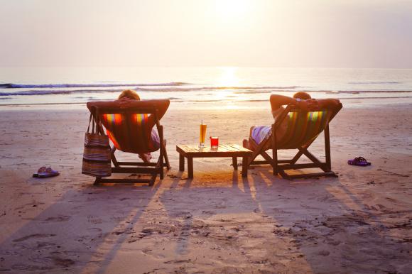 Entspannen in Strandurlaub